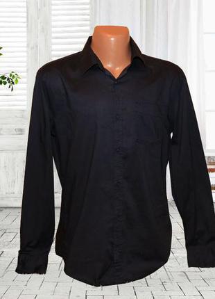 Мужская рубашка хлопок р.l takko fashion германия