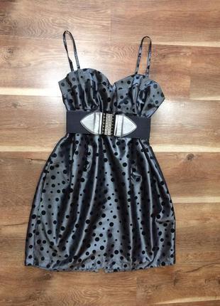 Вечернее коктейльное платье f&f