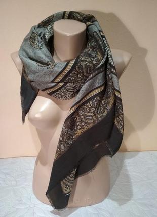 Подписной платок feliciani 115 х 115 шейный платок шарф