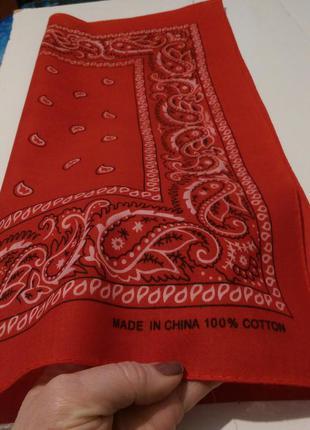 Шейный платок,бандана,55*51см