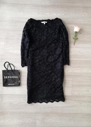 Очень красивое чёрное платье