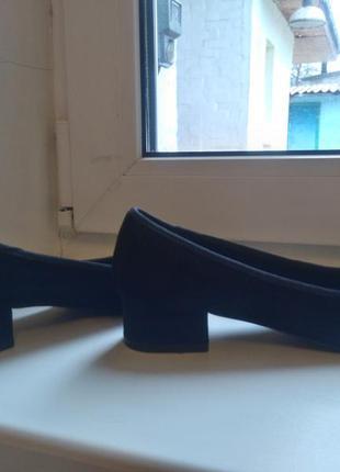 Туфли на низком каблуке stradivarius4