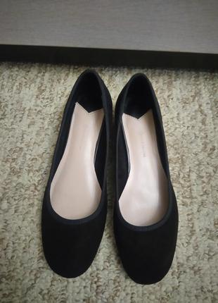 Туфли на низком каблуке stradivarius2