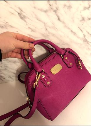 Ярко-розовая сумочка!