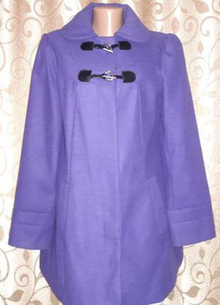 Женское демисезонное кашемировое пальто george