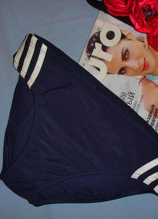 Мужские плавки размер 40-42 синие плавательные для купания в бассейн adidas на пляж