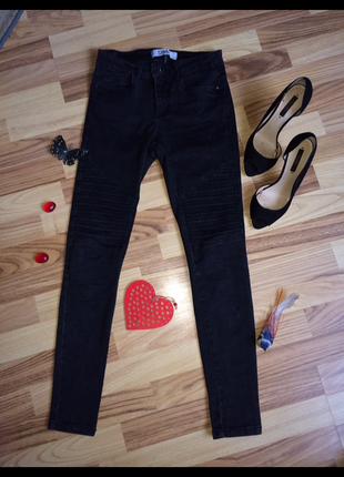 Модние чорние джинси