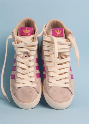 Замшевый высокие кроссовки