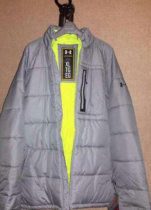 Очень теплая зимняя спортивная термо-куртка (американской фирмы  under armour storm )