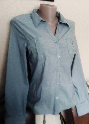Фирменная рубашка-блуза on name хлопок