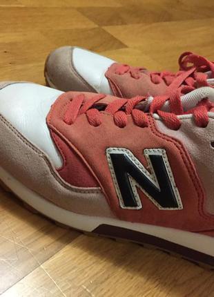 Нежно розовые кроссовки nb