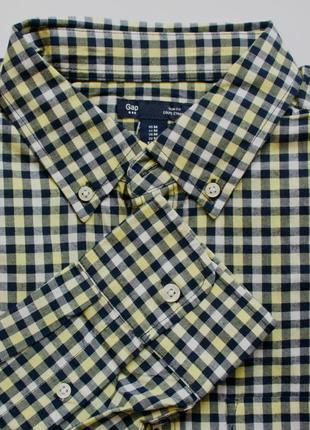 Рубашка с длинным рукавом gap
