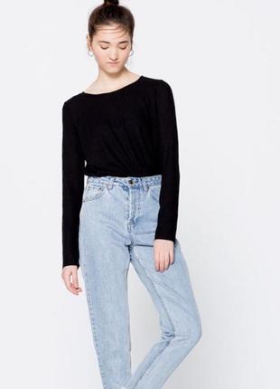 Pull&bear джинсы с высокой посадкой, 36/s