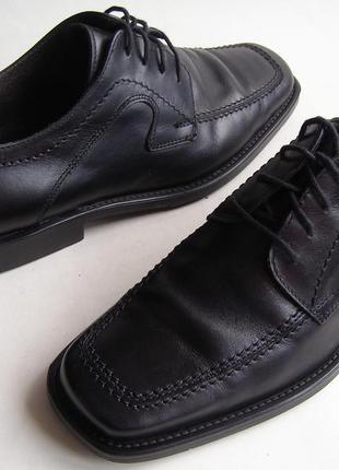 Кожаные туфли fretz, р. 42.5 28см.
