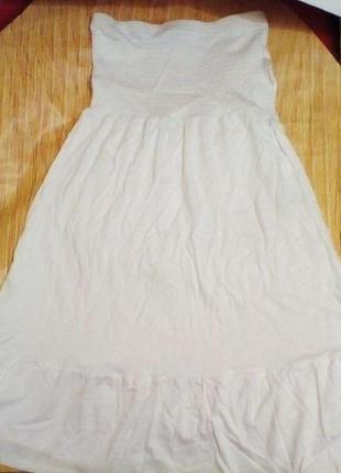 Оригинальное платье сарафан blue motion размер 38