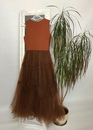 Платье с юбкой-пачкой!