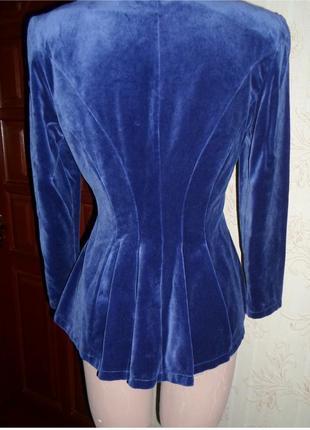 Бархатный пиджак gallery2 фото