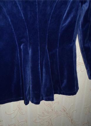 Бархатный пиджак gallery5 фото