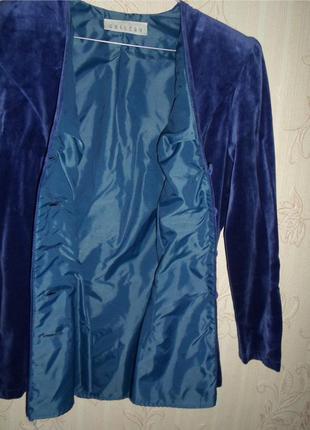 Бархатный пиджак gallery4 фото