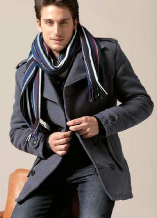 Мужской шарф в полоску от takko fashion германия