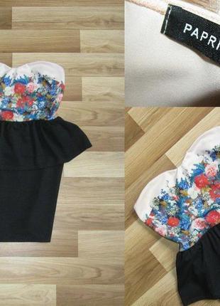 Супер стильное платье с баской!