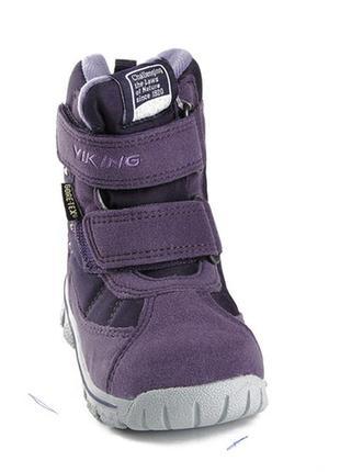 Ботинки viking, непромокаемые на мембране стелька 16 см.