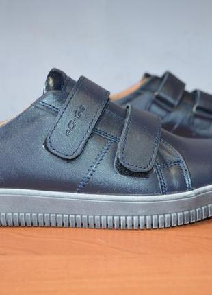 Подростковые фирменные туфли с натуральной кожи ed-ge brothers