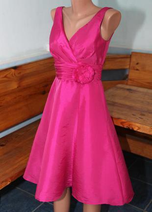 Платье свадебное нарядное вечернее атласное wedding collection