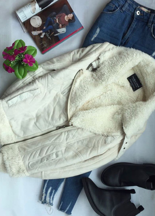 Стильная косуха, дубленка, куртка