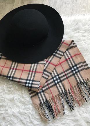 Шляпа asos шерстяная