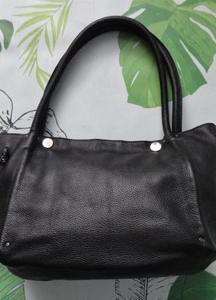 Кожаная женская повседневная  сумка