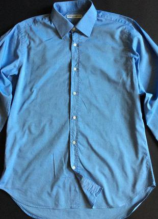 Мужская рубашка dolce & gabbana slim fit оригинал размер m-l