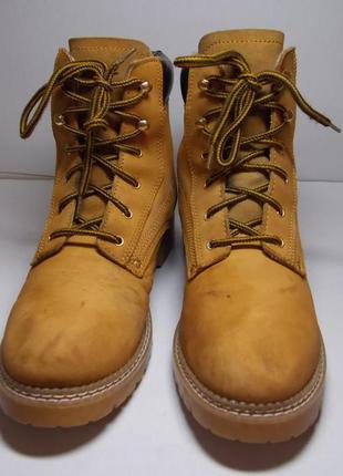 Кожаные демисезонные ботинки tcm nature trail 26 см