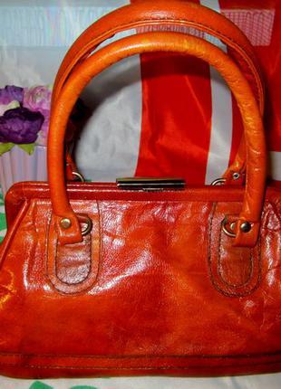 Красивая сумка - саквояж
