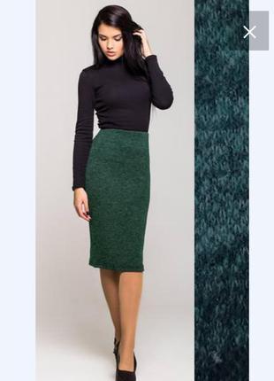 Новая изумрудная , зелёная юбочка с ангоры на весну, разные размеры и цвета.