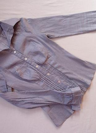 Блузка приталенная в отличном состоянии