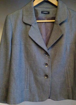 Суперский пиджак caroll (франция).