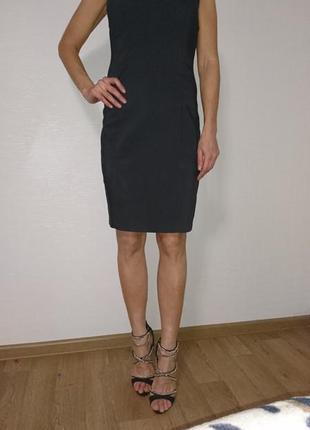 Платье футляр миди с камнями