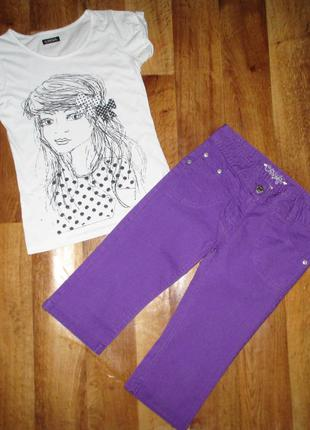 Нарядный летний комплект: шорты и футболка cherokee, рост 146 см