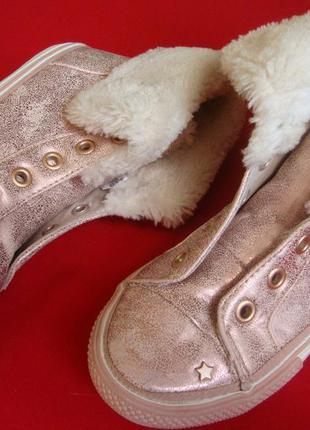 Ботинки next pink 29-30 размер
