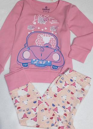 Пижама baykar для девочки на 1-2 года