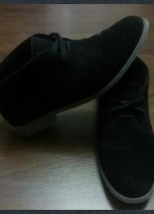 Класические замш ботинки