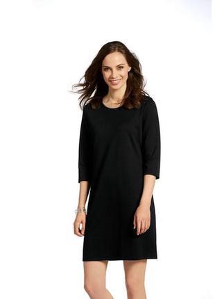 Трикотажное черное платье от esmara