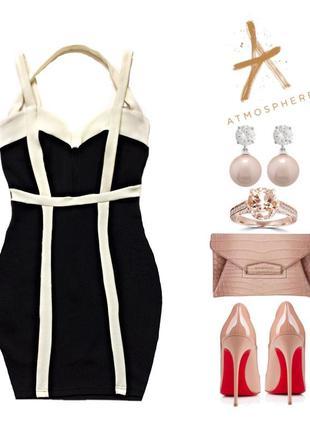 Супер бандажное платье в стиле herve leger