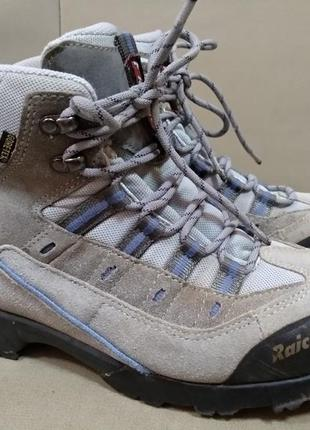 Крутые треккинговые термо ботинки raichle gore-tex 26,5 см. швейцария.