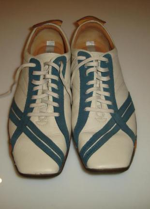 Clarks privo кожаные туфли , р 44 (uk 10 g)