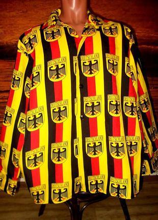 Рубашка маскарадная deutschland  для фана- эмблемы немецкого орла