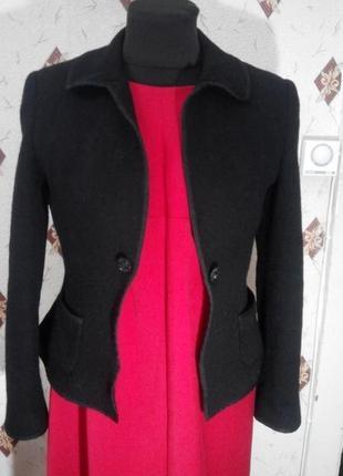 Жакет пиджак из натуральной шерсти