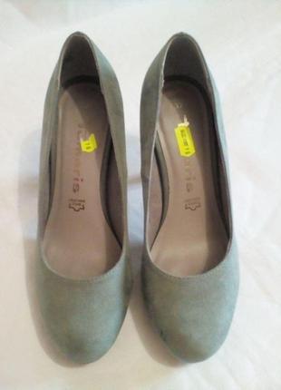 Туфли tamaris  женские нарядные 36- 37 размер, стелька 24см, германия