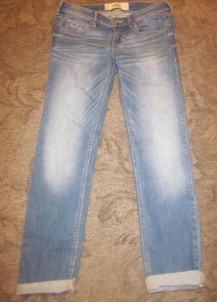Фирменные джинсы hollister размер 26